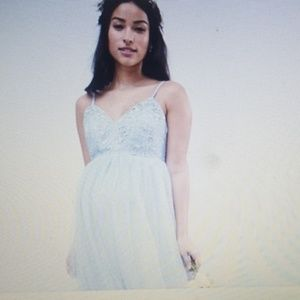 NWT- ASOS Maternity lace camisole bodice gown